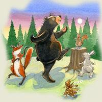 Poveşti de Petre Ispirescu - Copiii văduvului şi iepurele vulpea lupul şi ursul