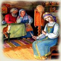 Poveşti de Ion Creangă - Fata babei şi fata moşneagului