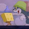 Desene animate cu Tom şi Jerry - Gustarea de la miezul nopţii