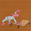 Desene animate Pantera Roz - Lupta cu musca