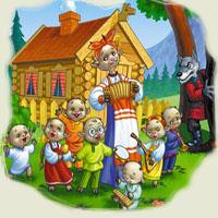 Poveşti de Fraţii Grimm - Lupul şi cei şapte iezi