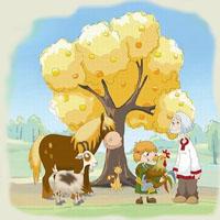 Poveşti de Fraţii Grimm - Pomul cu merele de aur
