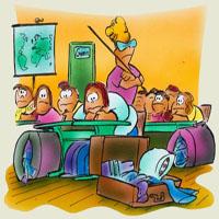 Ghicitoare pentru copii despre şcoală