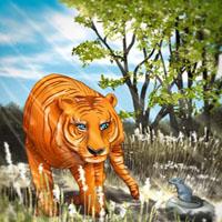 Afabetul pentru copii - Litera T - Tigru