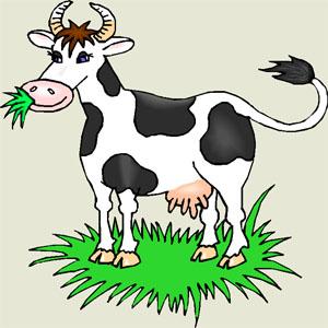 Ghicitoare pentru copii despre vacă