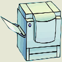 Afabetul pentru copii - Litera X - Xerox